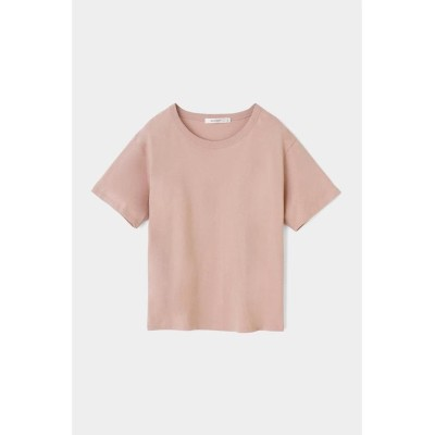 (moussy/マウジー)COTTON LOOSE FIT TEE/レディース L/ORG1