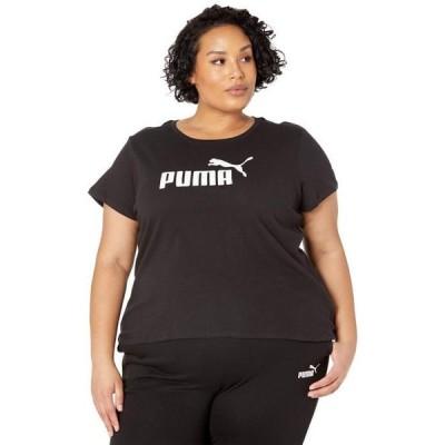 プーマ レディース シャツ トップス Plus Size Essential Logo Tee