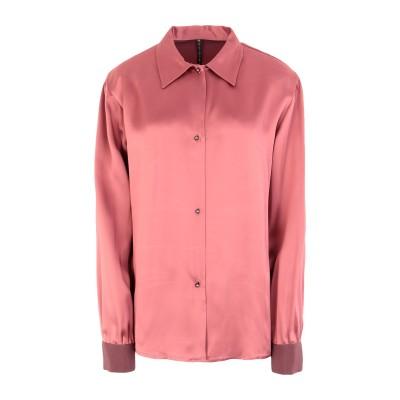 マニラ グレース MANILA GRACE シャツ パステルピンク 42 アセテート 57% / レーヨン 43% シャツ