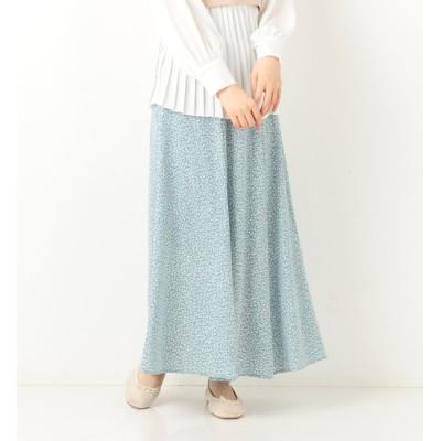 【アルシーヴ/archives】 花柄マーメイドスカート