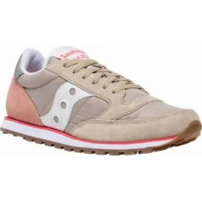 Saucony Originals レディーススニーカー Saucony Originals Jazz Lowpro Sneaker Tan/Light Pin