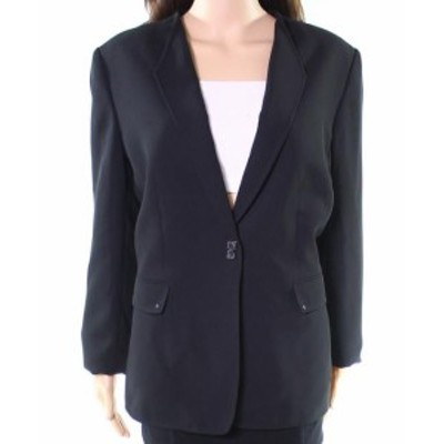 Tahari タハリ ファッション 衣類 Tahari by ASL NEW Black Womens Size 14 Buckle Front Dual Pocket Jacket