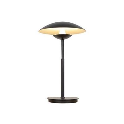"""[新品]VONN Lighting Rimini VAT6261BL 20"""" Height Integrated LED Table Lamp with Black Shade in Black, 11.75""""L x 11.75""""W x 19.5""""H"""