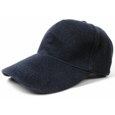 BIGWATCH正規品 大きいサイズ 帽子 メンズ 無地ヘンプニットコットンローキャップ ネイビー(紺)/ローキャップ/ビッグサイズ/ビッグワッ