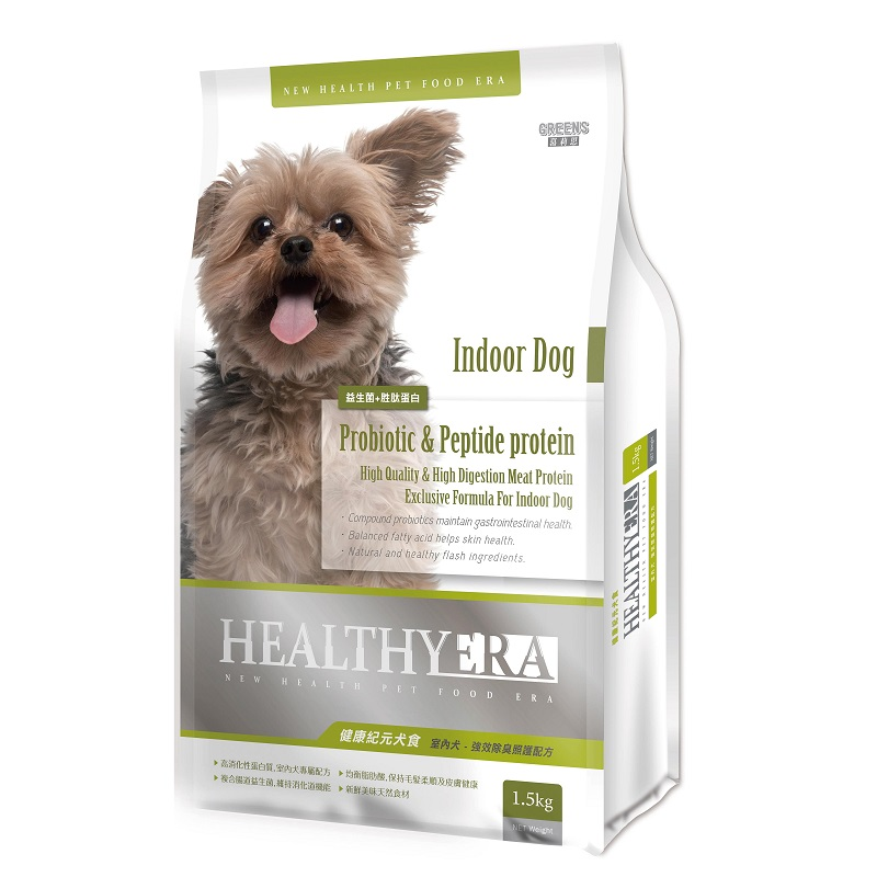 健康紀元犬食室內犬-強效除臭照護配方