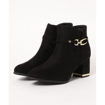 Parade ワシントン靴店 / 【異素材コンビ】バックルデザインカットブーツ 1345WK WOMEN シューズ > ブーツ