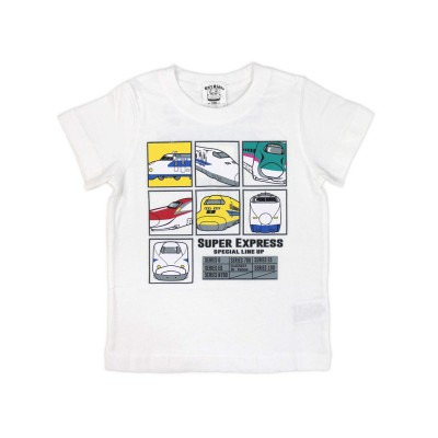 【Sn't kids】半袖Tシャツ新幹線 LINE UP