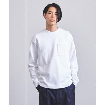 tシャツ Tシャツ <EN ROUTE(アンルート)>コットンポリエステル ミラノリブ 1ポケット クルーネック