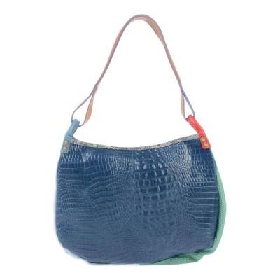 EBARRITO レディース ショルダーバッグ メッセンジャーバッグ 鞄 ブルー