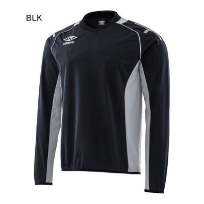 アンブロ サッカー トレーニングジャケット ジュニア トレーニングトップ ブラック×シルバー BLK UM-UAS2660J-BLK