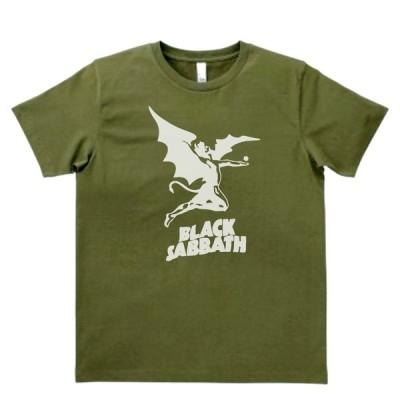 バンド ロック Tシャツ BLACK SABBATH 2 カーキー MLサイズ