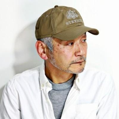 ステットソン キャップ メンズ stetson 春 夏 帽子 6方キャップ STETSON 野球帽 紳士 フリーサイズ