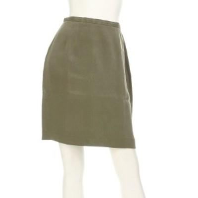 アンクライン ANNE KLEIN スカート サイズS レディース 美品 ベージュ系 タイトスカート シルク100%【還元祭対象】【中古】20200918