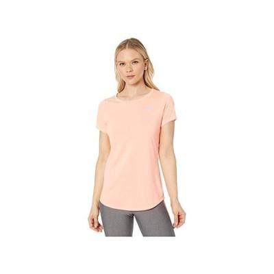 ニューバランス Accelerate Short Sleeve Top v2 レディース シャツ トップス Ginger Pink