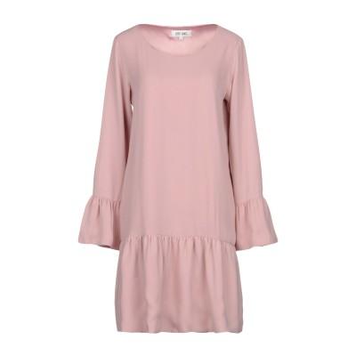 DRY LAKE. ミニワンピース&ドレス ピンク S 100% ポリエステル ミニワンピース&ドレス