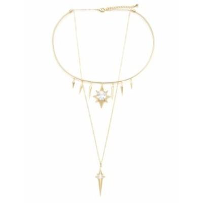 ノワールジュエリー レディース ネックレス Starburst Layered Necklace