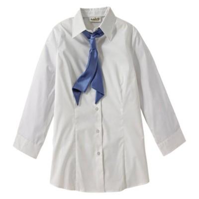 ユニセックス 衣類 トップス Edwards Garment Broadcloth 3/4 Sleeve Maternity Stretch Shirt Style 5029 マタニティ