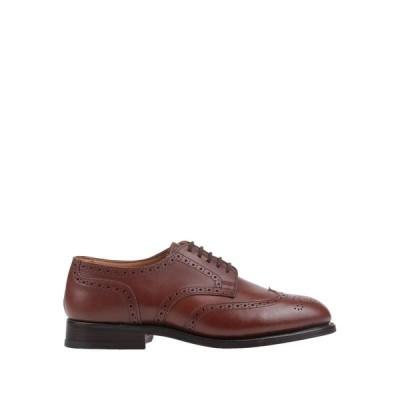 TRICKER'S レースアップシューズ ファッション  メンズファッション  メンズシューズ、紳士靴  その他メンズシューズ、紳士靴 ブラウン