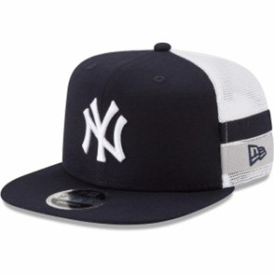 New Era ニュー エラ スポーツ用品  New Era New York Yankees Navy Striped Side Lineup 9FIFTY Adjustable Hat