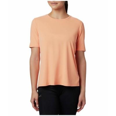 コロンビア シャツ トップス レディース Chill River Short Sleeve Shirt Bright Nectar