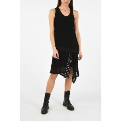 DIESEL/ディーゼル Black レディース Knee Length D-LENYNE-ALE Asymmetric Dress with Petticoat dk