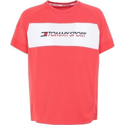 トミーヒルフィガー TOMMY SPORT メンズ Tシャツ トップス t-shirt Coral