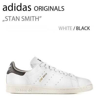 adidas ORIGINALS STAN SMITH WHT BLK アディダス スタンスミス ホワイト ブラック 復刻 本革 S75076