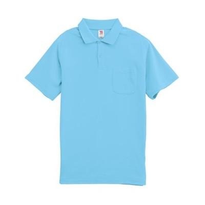 ティーエスデザイン(TS DESIGN) メンズ 半袖ポロシャツ 1065 31 サックス SS〜LL 作業服 作業着 ワークウェア ワークシャツ