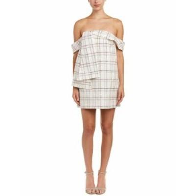 Plaid  ファッション ドレス Isla Plaid Party Mini Dress