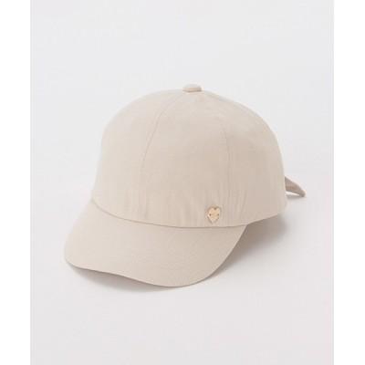 petit main / 抗菌防臭 後ろリボンキャップ KIDS 帽子 > キャップ