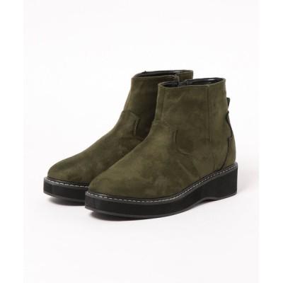 GeeRA / ウエスタン調厚底ブーツ WOMEN シューズ > ブーツ