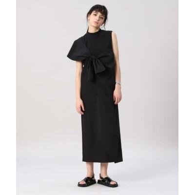 INED/イネド 《Luftrobe》アシンメトリーカットドレス ブラック 09