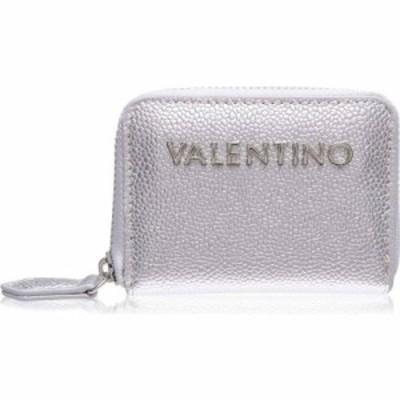 マリオ ヴァレンティーノ Mario Valentino レディース 財布 Divina Zip Around Purse Argento