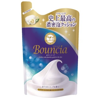 牛乳石鹸共進社 バウンシアボディソープ ホワイトソープ 詰替用 400ml
