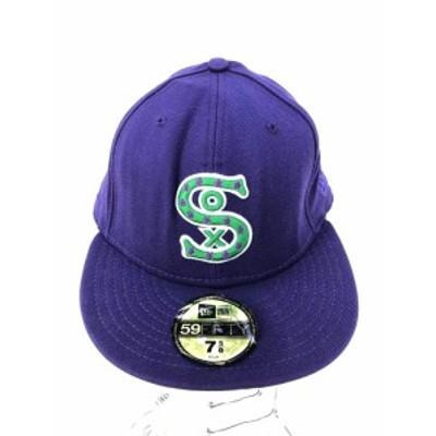 ニューエラ NEW ERA キャップ帽子 サイズ7 5/8 メンズ 【中古】【ブランド古着バズストア】