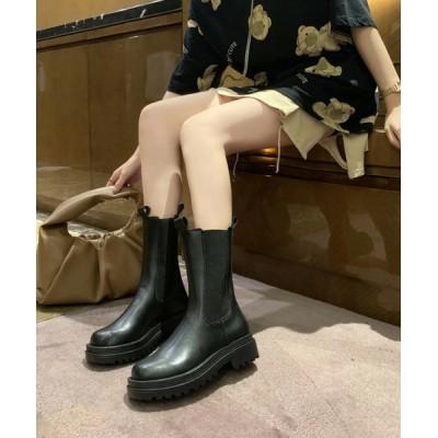 SUGAR BISKET / サイドゴアロングブーツ WOMEN シューズ > ブーツ
