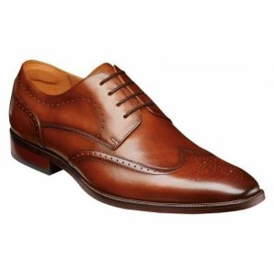 Florsheim フローシャイム メンズ 男性用 シューズ 靴 オックスフォード 紳士靴 通勤靴 Sorrento Wing Tip Oxford Cognac【送料無料】