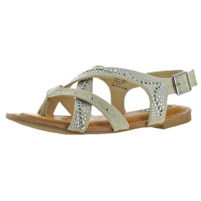 サンダル ノットレイテッド Not Rated Naughty Monkey Uniti Women's Faux Suede Embellished Sandal Shoes