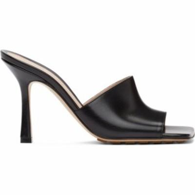 ボッテガ ヴェネタ Bottega Veneta レディース サンダル・ミュール シューズ・靴 Black Stretch Heeled Mules Black