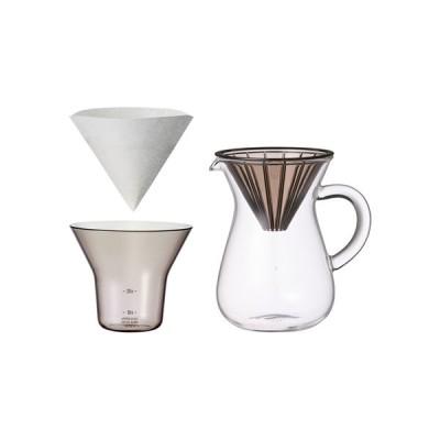 キントー KINTO コーヒーカラフェセット プラスチック 300ml コーヒーメーカー ドリップ式 27643 卒業式 新生活 おしゃれ かわいい