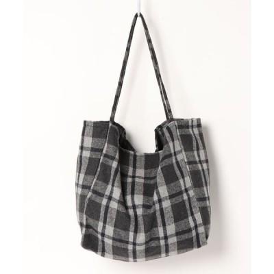 トートバッグ バッグ ぬいぐるみ付けられるトートバッグ