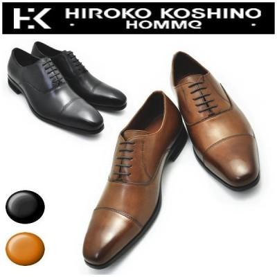 (クールビズ) 本革 《HIROKO KOSHINO HOMME》 ヒロココシノ ストーレットチップ No119