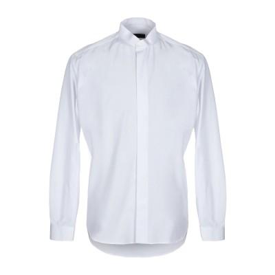 ZEUSEDERA シャツ ホワイト M コットン 100% シャツ