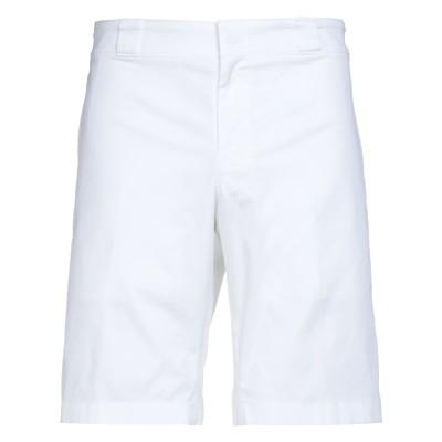 プラダ PRADA バミューダパンツ ホワイト 52 コットン 97% / ポリウレタン 3% バミューダパンツ