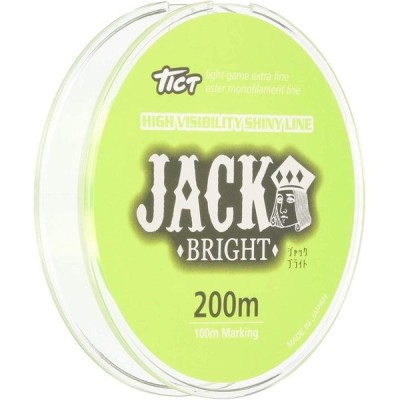 ティクト(TICT) ライン ジャックブライト 200m 0.4号