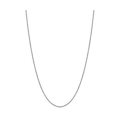 10k ゴールド Singapore Rope チェーン ネックレス 0.9 Mm (20, ホワイト-gold)(海外取寄せ品)