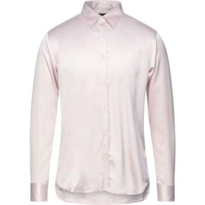 メッサジェリエ MESSAGERIE メンズ シャツ トップス Solid Color Shirt Pink