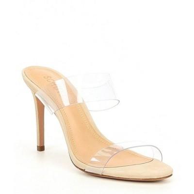 シュッツ レディース サンダル シューズ Ariella Nubuck Transparent Dress Sandals
