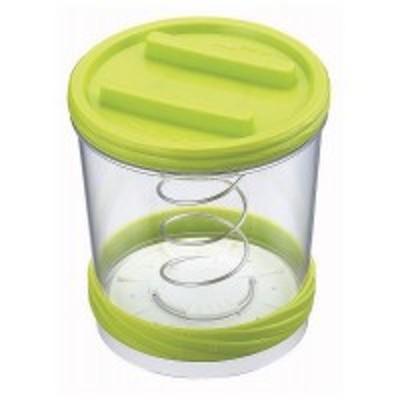 ポイント増量中 クーポンあり 食材を入れて蓋を閉めるだけで簡単に浅漬けができます。 樽型漬物器L VC-020