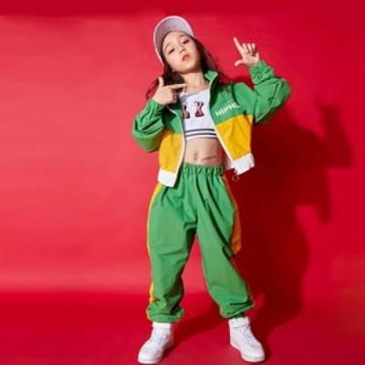 子供 ダンス 衣装 ヒップホップ ダンストップス HIPHOP キッズダンス衣装 ステージ衣装  衣装 練習着 演出 ステージ衣装 おしゃれ ステー